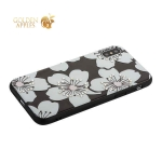 Накладка PC + TPU BLING BALLY Luxury Diamond Case для iPhone X (5.8) Цветы