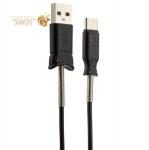 USB дата-кабель Hoco X24 Pisces Type-C (1.2 м) Черный