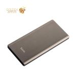 Аккумулятор внешний универсальный Hoco J17A-10000 mAh Clear Power Bank (2USB: 5V-2.1A) Графитовый