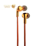 Наушники Hoco M30 Glaring Universal Earphones with mic (1.2 м) с микрофоном Orange Оранжевые