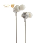 Наушники Hoco M32 Contented wave Universal Earphones with mic (1.2 м) с микрофоном Silver Серебристые