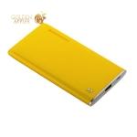 Аккумулятор внешний универсальный Remax RPP 78- 5000 mAh Crave power bank (USB: 5V-2.0A) Yellow Желтый