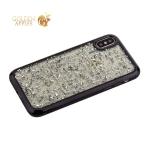 Накладка пластиковая Santa Barbara Polo&Racquet Clory Series для iPhone XS силиконовый борт Черная