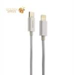 USB дата-кабель Deppa Power Delivery USB Type-C - USB 8-pin Lightning D-72280 (USB 2.0 3A) 1.2м Белый