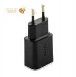 Адаптер питания Deppa Wall charger 2.4А D-11381, дата-кабель microUSB 1.2m (2USB: 5V 2.4A) Черный