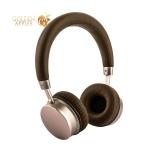 Наушники Remax RB-520HB Wireless headphone Brown Коричневые