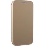 Чехол-книжка кожаный Fashion Case Slim-Fit для iPhone 11 (6.1) Золотой