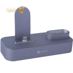 Док-станция COTEetCI Base22 Dock 2in1 stand для iPhone XS/ 8 Plus/ 8 & AirPods CS7205-GY (Серый Космос) Графитовая