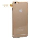 Супертонкий силиконовый чехол-накладка для iPhone 6S Plus / 6 Plus ICSES, цвет прозрачный