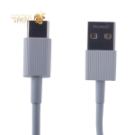 USB дата-кабель Remax Chaino Series Cable (RC-120a) Type-C 2.1A круглый (1.0 м) Белый