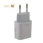 Адаптер питания Remax RP-U14 Traveller series charger с кабелем Lightning (USB: 5V max 2.4A) Белый