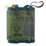 Аккумулятор внешний универсальный Remax RPP 79- 10000 mAh Armory power bank (2USB: 5V-2.1A) Зеленый