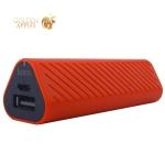 Аккумулятор внешний универсальный Hoco J23-2500 mAh New style Power bank (USB: 5V-1.0A) Red Красный
