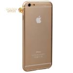 Алюминиевый бампер для iPhone 6S Plus / 6 Plus Fashion Case (замок сбоку), цвет золотистый