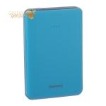 Аккумулятор внешний универсальный Remax RPP33-5000 mAh Tiger Power bank (2 USB: 5V-2.0A) Blue Синий