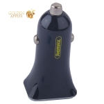 Разделитель автомобильный Remax RCC203 Car charger (2USB: 5V 2.4A Max) - Черный