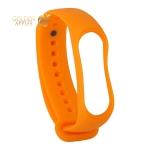 Сменный ремешок Xiaomi Mi Band 3 (гипоаллергенный силикон) Orange Оранжевый