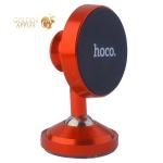 Автомобильный держатель Hoco CA36 Dashboard metal magnetic in-car holder магнитный универсальный красный