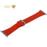 Ремешок кожаный COTEetCI W22 Band for Premier (WH5232-RD) для Apple Watch 38 мм (классическая пряжка) Красный