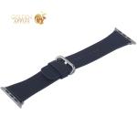 Ремешок кожаный COTEetCI W22 Band for Premier (WH5233-BK) для Apple Watch 44 мм (классическая пряжка) Черный