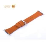 Ремешок кожаный COTEetCI W22 Band for Premier (WH5233-KR) для Apple Watch 44 мм (классическая пряжка) Коричневый