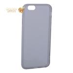 Чехол силиконовый для iPhone 6S / 6 (4.7) уплотненный в техпаке (прозрачно-чёрный)