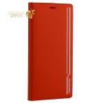 Чехол-книжка кожаный Peacocktion для iPhone XS Max Royal Series (ZGIIP9RED) Красный