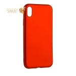 Чехол-накладка Deppa Case Silk TPU Soft touch D-89045 для iPhone XR 1 мм Красный металик