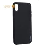 Чехол-накладка силикон Deppa Gel Color Case TPU D-85355 для iPhone XS Max 0.8 мм Черный