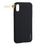 Чехол-накладка силикон Deppa Gel Color Case TPU D-85359 для iPhone X (5.8) 0.8 мм Черный