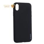 Чехол-накладка силикон Deppa Gel Color Case TPU D-85363 для iPhone XR 0.8 мм Черный