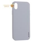 Чехол-накладка силикон Deppa Gel Color Case TPU D-85366 для iPhone XR 0.8 мм Белый