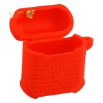 Чехол & гарнитура круглая силиконовые COTEetCI для AirPods CS8119-RD Suit Красный