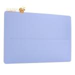 Защитный чехол-накладка HardShell Case для Apple MacBook Pro 15 Touch Bar (2016г.) матовая прозрачная