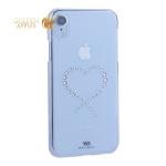 Чехол-накладка White Diamonds Eternity пластик для iPhone XR (6.1) с кристаллами Swarovski (805053) 1380ETY5 Прозрачный