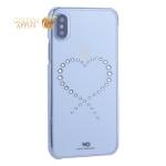Чехол-накладка White Diamonds Eternity пластик для iPhone XS с кристаллами Swarovski (805047) 1370ETY5 Прозрачный