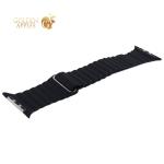 Ремешок кожаный COTEetCI W7 Leather Magnet Band (WH5206-BK) для Apple Watch 44 мм Черный
