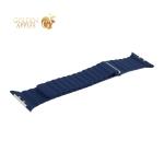 Ремешок кожаный COTEetCI W7 Leather Magnet Band (WH5206-DB) для Apple Watch 42 мм Синий