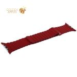 Ремешок кожаный COTEetCI W7 Leather Magnet Band (WH5206-RD) для Apple Watch 42 мм Красный