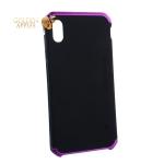 Чехол-накладка Element Case (AL&Pl) для Apple iPhone XS Max (6.5) Solace Черный (фиолетовый ободок)