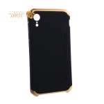Чехол-накладка Element Case (AL&Pl) для Apple iPhone XR (6.1) Solace Черный (золотистый ободок)