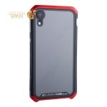 Чехол-накладка Element Case (AL&Glass) для Apple iPhone XR (6.1) G-Solace красно-черный ободок