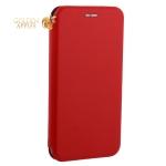 Чехол-книжка кожаный Fashion Case Slim-Fit для iPhone XR (6.1) Red Красный