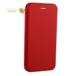 Чехол-книжка кожаный Fashion Case Slim-Fit для iPhone XS Max (6.5) Red Красный