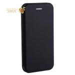 Чехол-книжка кожаный Fashion Case Slim-Fit для iPhone 6S / 6 (4.7) Black Черный