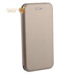 Чехол-книжка кожаный Fashion Case Slim-Fit для iPhone 6s/ 6 (4.7) Gold Золотой