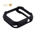 Чехол силиконовый бампер COTEetCI PU+TPU case для Apple Watch Series 5/ 4 (CS7051-BK) 40 мм Черный (черный ободок)