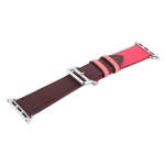Ремешок кожаный COTEetCI W36 Fashoin Leather (WH5260-44-BRR) для Apple Watch 42 мм (short) Коричневый-Розовый