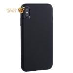 Чехол-накладка кожаная TOTU Imitation all covered PU Leather Case для iPhone XS Max (6.5) AAiXSMAX-016 Черный