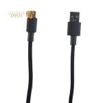 USB дата-кабель Hoco X29 Superior style charging data cable Type-C (1.0 м) Black Черный